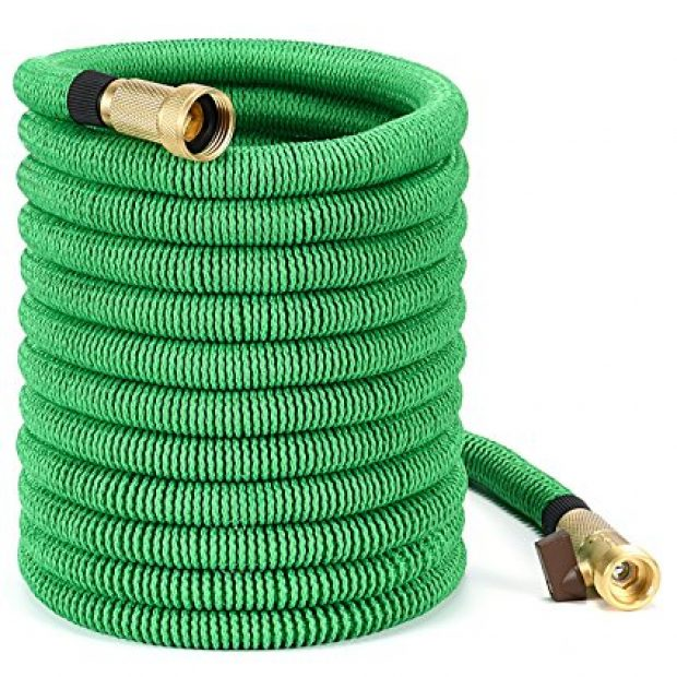 Normally $50, this garden hose is 62 percent off with this exclusive code (Photo via Amazon)