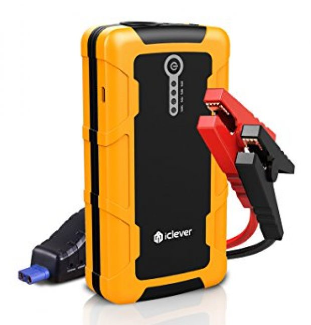 Normally $64, this jump starter is 22 percent off with this code (Photo via Amazon)