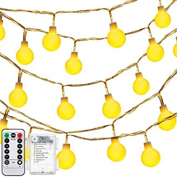Normally $20, these string lights are 70 percent off with this exclusive code (Photo via Amazon)