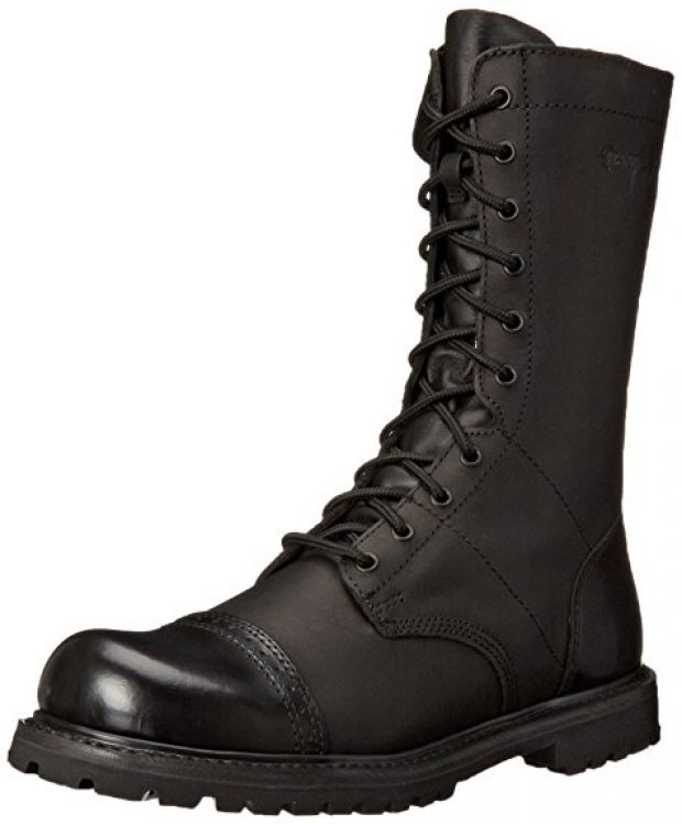 Normally $160, this pair of paratrooper boots is 46 percent off today (Photo via Amazon)