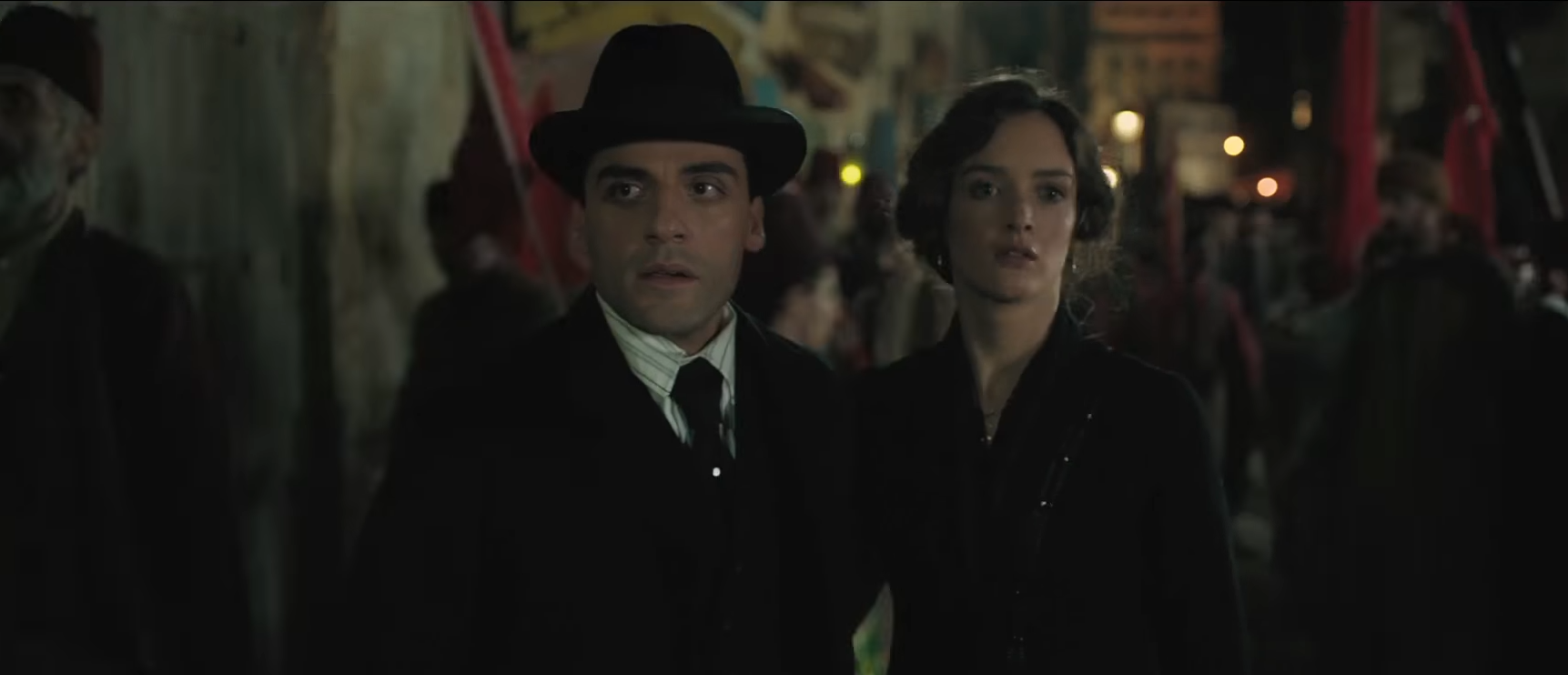 Oscar Isaac and Charlotte le Bron in The Promise (YouTube)