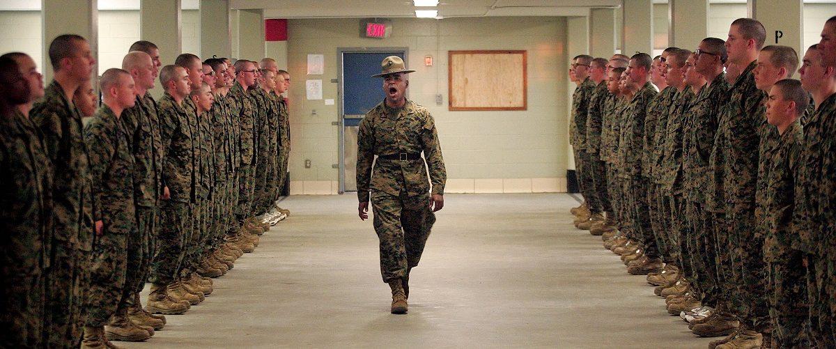 Marine Recruits Endure Basic Training On Parris Island