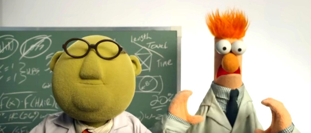 scientists YouTube screenshot/The Muppets