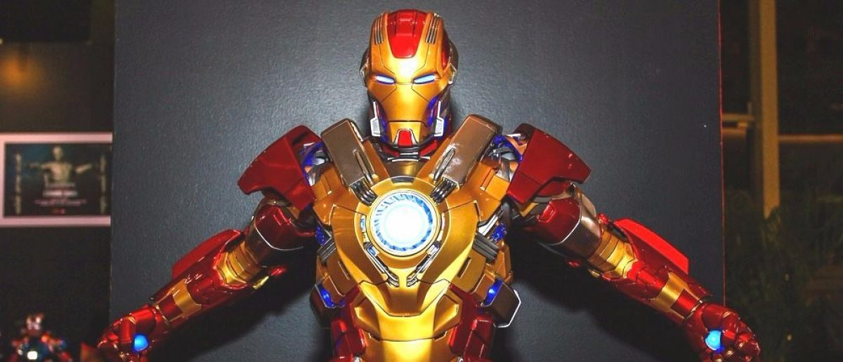 A replica of the Iron Man suit. [Shutterstock - REDXIII]