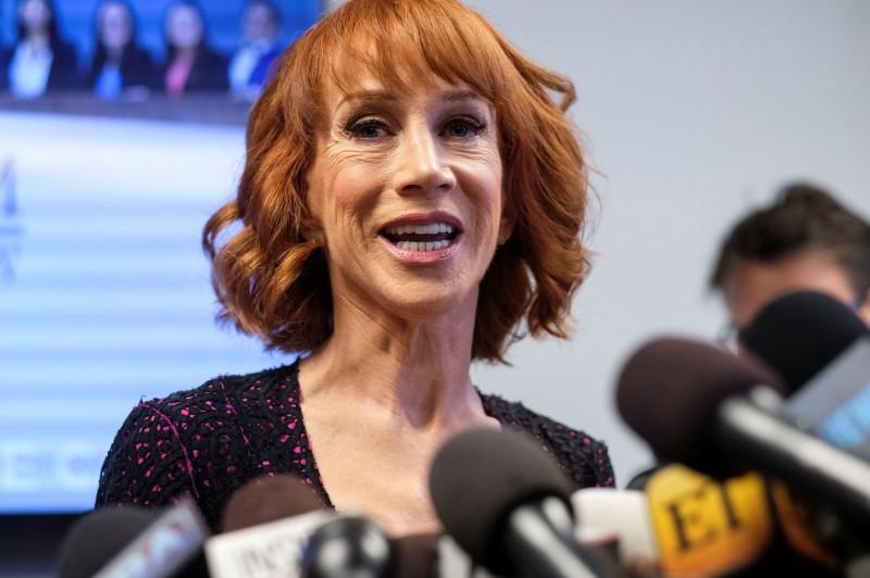 Sharon Needles recreates Kathy Griffin's Trump severed head photo