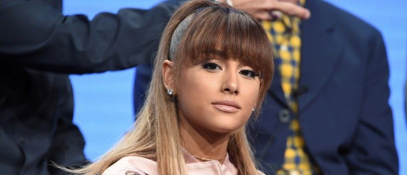 "FILE PHOTO: Cast member Ariana Grande answers questions during the panel for ""Hairspray Live!"" at the NBC Universal Television Critics Association press tour in Beverly Hills, California, U.S. August 2, 2016. REUTERS/Phil McCarten/File Photo"