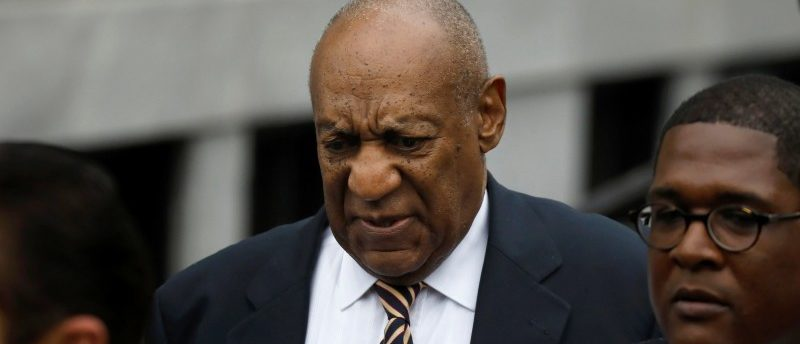 Actor and comedian Bill Cosby leaves after the first day of his sexual assault trial at the Montgomery County Courthouse in Norristown, Pennsylvania, U.S. June 5, 2017. REUTERS/Brendan McDermid