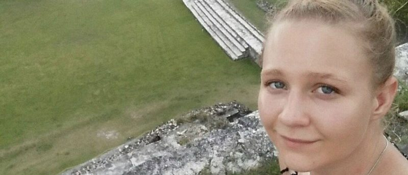 Reality Leigh Winner, 25, a federal contractor charged by the U.S. Department of Justice for sending classified material to a news organization, poses in a picture posted to her Instagram account. Reality Winner/Social Media via REUTERS