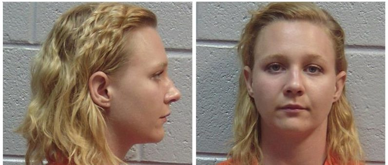 Combination photo showing Reality Winner, the U.S. intelligence contractor charged with leaking classified National Security Agency material is seen in these undated booking photos in Lincolnton, Georgia, U.S., received June 8, 2017. Lincoln County, Georgia, Sheriff's Office/Handout via REUTERS