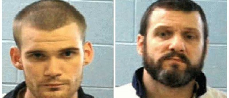 Two escapted inmates Ricky Dubose (L) and Donnie Russell Rowe (R) are seen in these Georgia Department of Corrections photos released after their escapte from Putnam County, southeast of Atlanta, Georgia, U.S., June 13, 2017. Courtesy Georgia Corrections/Handout via REUTERS ATTENTION EDITORS - THIS IMAGE WAS PROVIDED BY A THIRD PARTY. EDITORIAL USE ONLY.