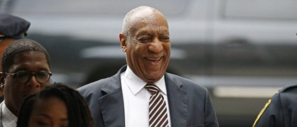 Actor and comedian Bill Cosby arrives as the jury deliberates during his sexual assault trial at the Montgomery County Courthouse in Norristown, Pennsylvania, U.S. June 14, 2017. REUTERS/Brendan McDermid