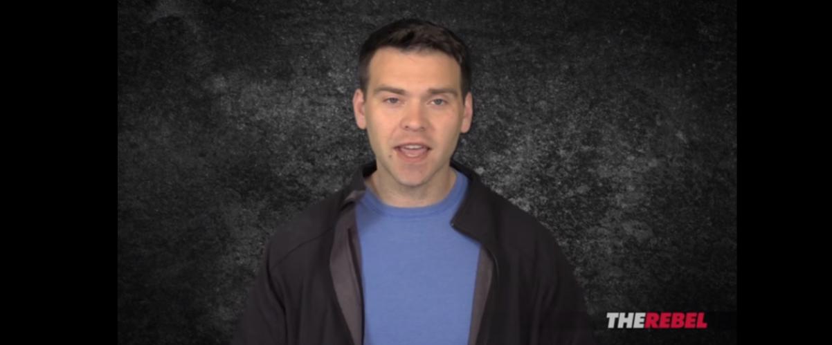 Jack Posobiec describing anti-fascism in a video for The Rebel Media. Screenshot/YouTube.