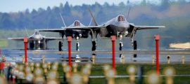 The F-35 Just Made Its First Combat Mission, But It Wasn't The US Flying It