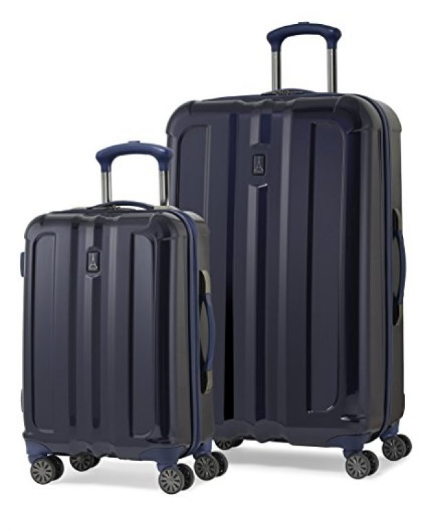 Normally $500, this 2-piece luggage set is 78 percent off today (Photo via Amazon)