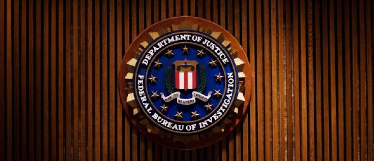 A crest of the Federal Bureau of Investigation is seen 03 August 2007 inside the J. Edgar Hoover FBI Building in Washington, DC. AFP PHOTO/Mandel NGAN (Photo credit should read MANDEL NGAN/AFP/Getty Images)