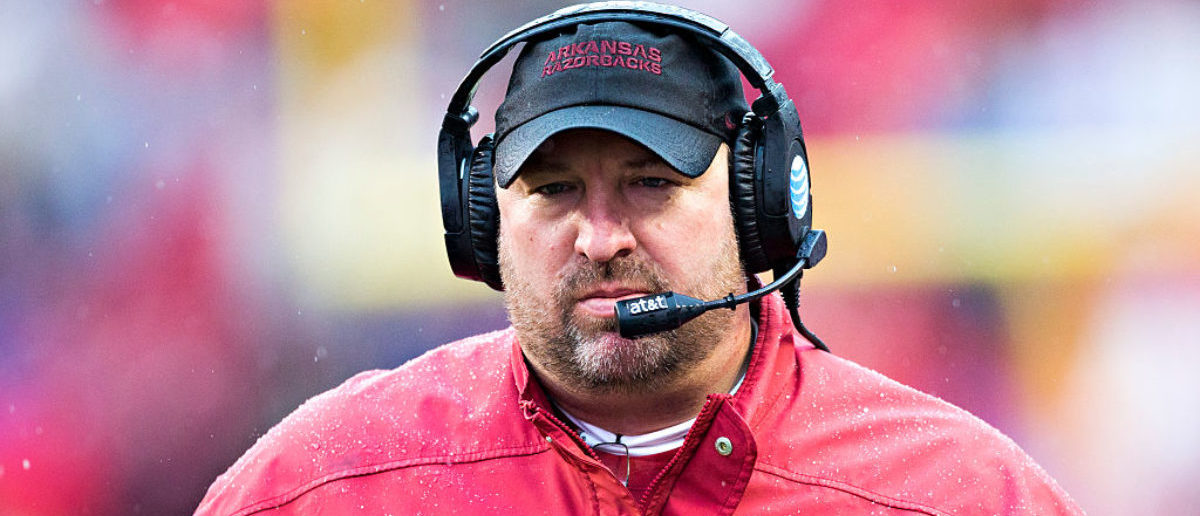 Bret Bielema (Credit: Getty Images/Wesley Hitt)