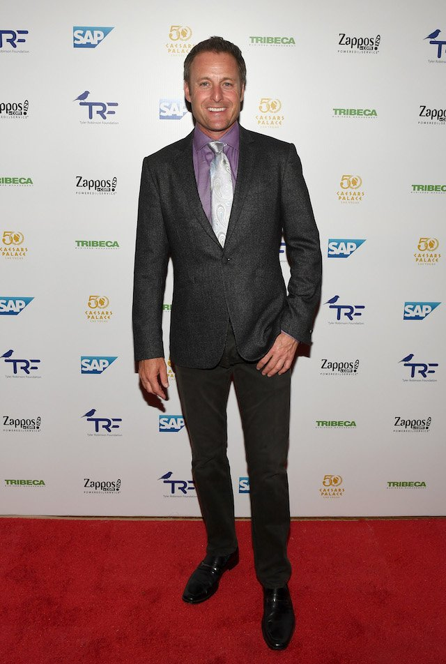 LAS VEGAS, NV - SEPTEMBER 30: Television personality Chris Harrison attends the third annual Tyler Robinson Foundation gala benefiting families affected by pediatric cancer at Caesars Palace on September 30, 2016 in Las Vegas, Nevada. (Photo by Ethan Miller/Getty Images)
