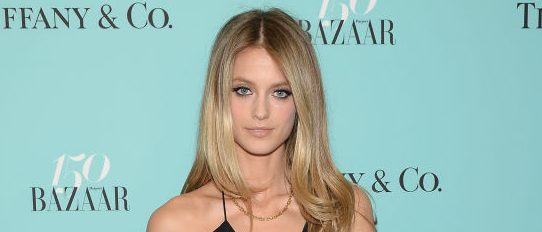Model Kate Bock attends Harper's BAZAAR 150th Anniversary Event presented with Tiffany & Co at The Rainbow Room on April 19, 2017 in New York City. (Photo by Andrew Toth/Getty Images for Harper's BAZAAR)