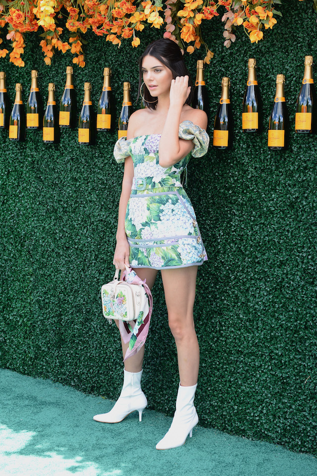 JERSEY CITY, NJ - JUNE 03: Model Kendall Jenner attends The Tenth Annual Veuve Clicquot Polo Classic at Liberty State Park on June 3, 2017 in Jersey City, New Jersey. (Photo by Andrew Toth/Getty Images for Veuve Clicquot)