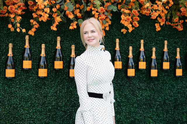 JERSEY CITY, NJ - JUNE 03: Actress Nicole Kidman attends The Tenth Annual Veuve Clicquot Polo Classic at Liberty State Park on June 3, 2017 in Jersey City, New Jersey. (Photo by Andrew Toth/Getty Images for Veuve Clicquot)