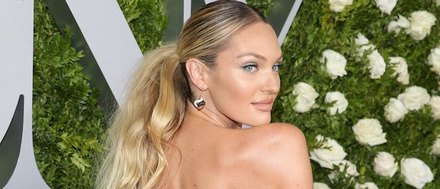NEW YORK, NY - JUNE 11: Model Candice Swanepoel attends the 2017 Tony Awards at Radio City Music Hall on June 11, 2017 in New York City. (Photo by Jemal Countess/Getty Images for Tony Awards Productions)
