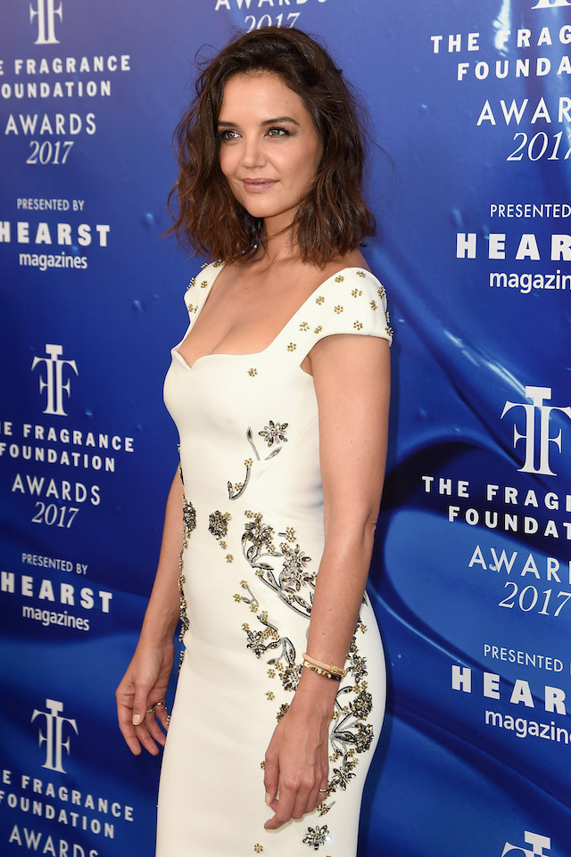 NEW YORK, NY - JUNE 14: Katie Holmes attends the 2017 Fragrance Foundation Awards Presented By Hearst Magazines at Alice Tully Hall on June 14, 2017 in New York City. (Photo by Nicholas Hunt/Getty Images for Fragrance Foundation)