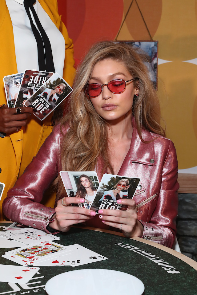 NEW YORK, NY - JUNE 27: Gigi Hadid attends Gigi Hadid for Vogue Eyewear #ShowYourParty event at Industria Superstudio on June 27, 2017 in New York City. (Photo by Astrid Stawiarz/Getty Images for Luxottica)