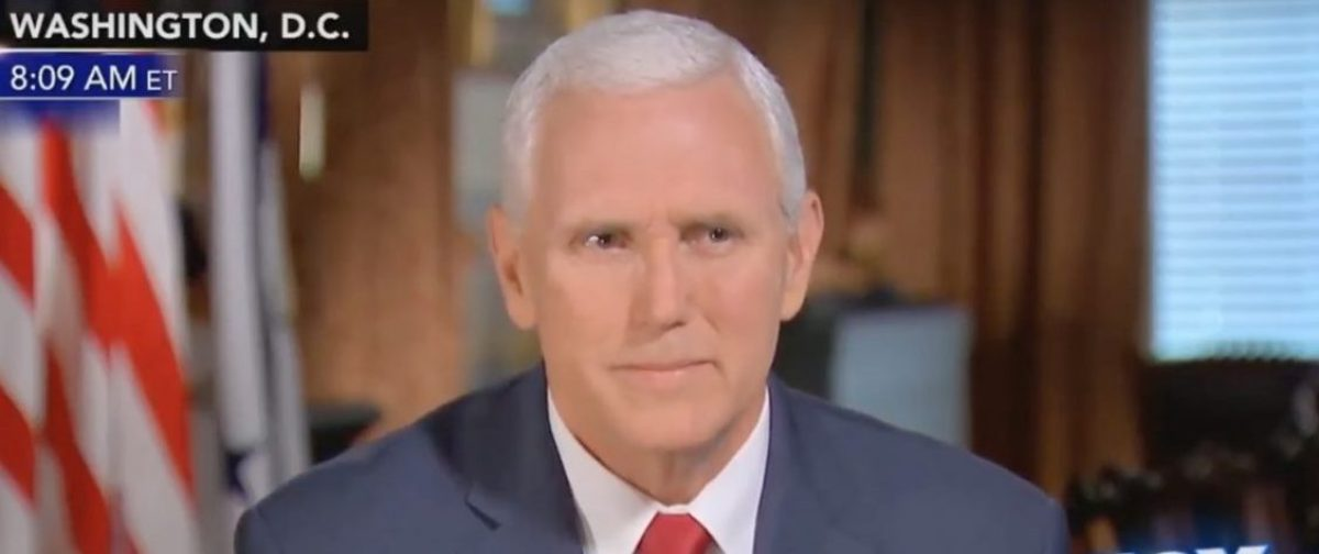 Mike Pence interview/YouTube Screenshot/ Trump Supporter