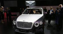 Bentley Bentayga  (REUTERS/Arnd Wiegmann)