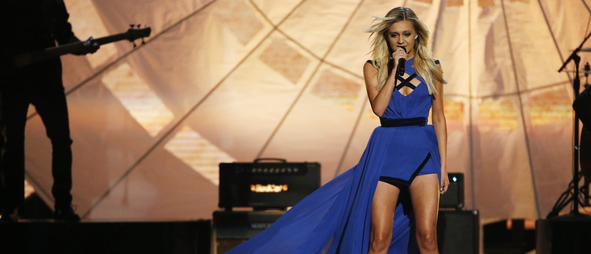 Kelsea Ballerini performs during the 51st Academy of Country Music Awards in Las Vegas (REUTERS/Mario Anzuoni)