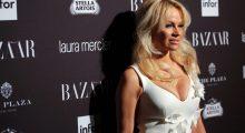 Pamela Anderson attends Harper's Bazaar's celebration (Photo: Getty)