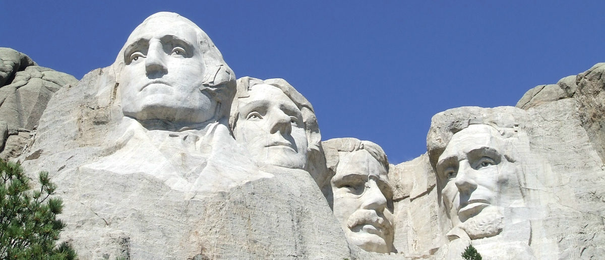 Mount Rushmore, located in the Black Hills, South Dakota, features U.S. presidents George Washington, Thomas Jefferson, Theodore Roosevelt, and Abraham Lincoln (Courtesy NPS/Handout via REUTERS)