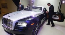 Rolls-Royce Wraith  (REUTERS/Alexander Demianchuk)