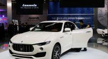 Maserati's SUV model Levante (REUTERS/Kim Kyung-Hoon)
