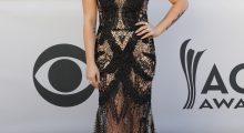 Country singer RaeLynn wore a jaw-dropping dress to the 52nd Academy of Country Music Awards (REUTERS/Steve Marcus)