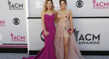 2 photos featured in the slideshow seems necessary for the two beautiful singers of Maddie and Tae- Maddie Marlow and Tae Dye (REUTERS/Steve Marcus)