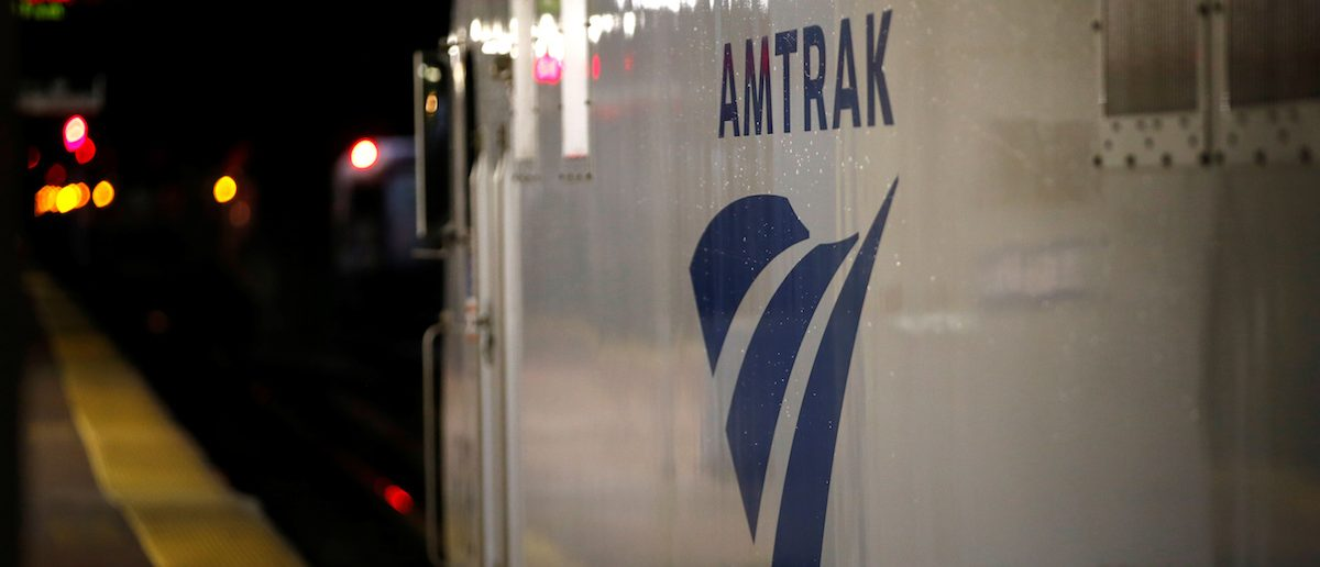 An Amtrak engine sits next to a platform in New York's Penn Station, the nation's busiest train hub, where Amtrak says they will begin repairing a complex of tracks over the summer in New York City, U.S., May 25, 2017. (Photo: REUTERS/Mike Segar)