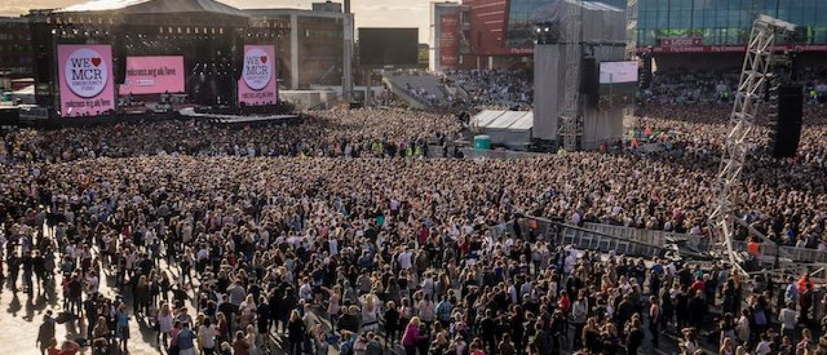 General view during the One Love Manchester benefit concert for the victims of the Manchester Arena terror attack at Emirates Old Trafford, Manchester, Britain, June 4, 2016. REUTERS/Danny Lawson for One Love Manchester/Pool