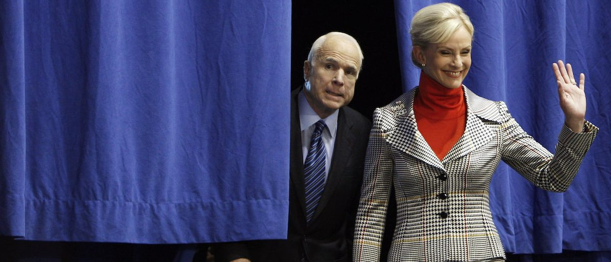 After Months Of Courting, Trump Finally Wins Cindy McCain