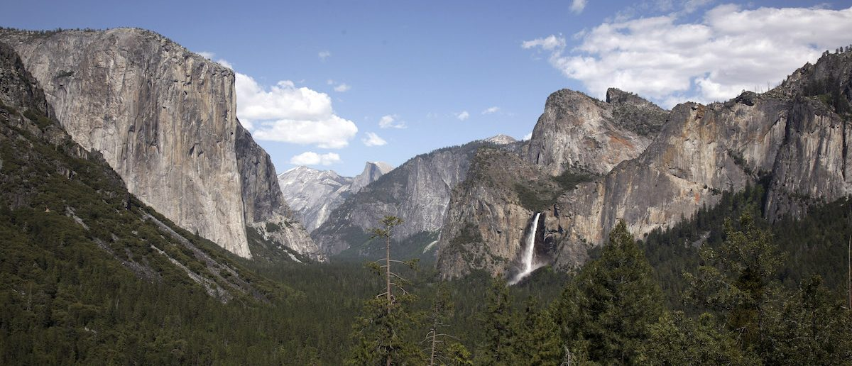 You can capture this shot of Bridalveil Fall in Yosemite National Park from Tunnel View (REUTERS/Robert Galbraith)