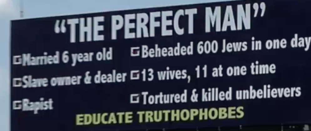 Indiana Perfect Man Billboard (Youtube screenshot/Latest Conspiracy Theory news)