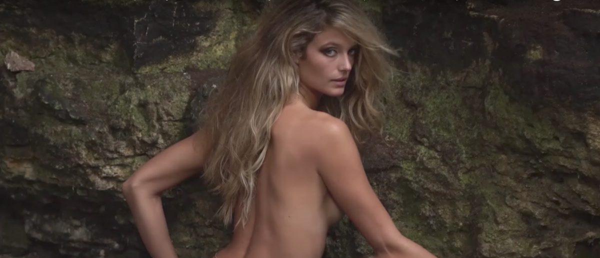 Kate Bock (Credit: Screenshot/YouTube Sports Illustrated Swimsuit)