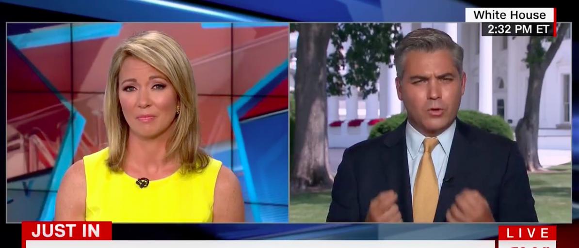 Screen Shot Brooke Baldwin and Jim Acosta (CNN: June 19, 2017)