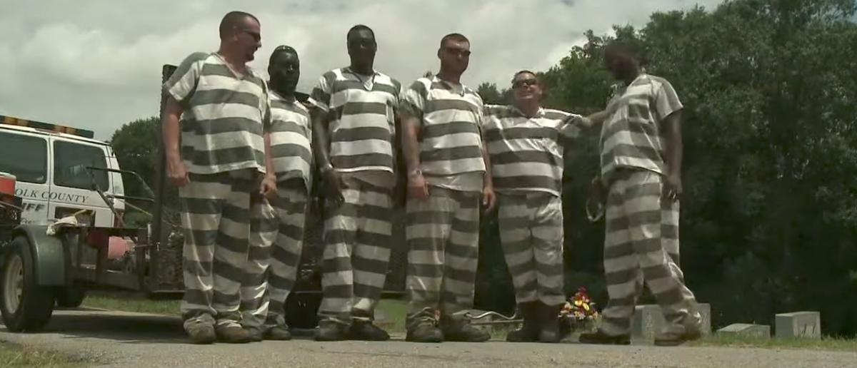 """Inmates help save deputy's life"" [Screenshot/YouTube/Public - User: 11Alive]"