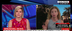 Debbie Wasserman Schultz Accuses Jeh Johnson Of Lying [VIDEO]