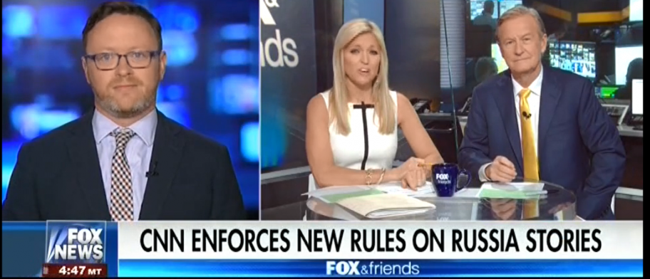 Christopher Bedford Fox and Friends/Screenshot
