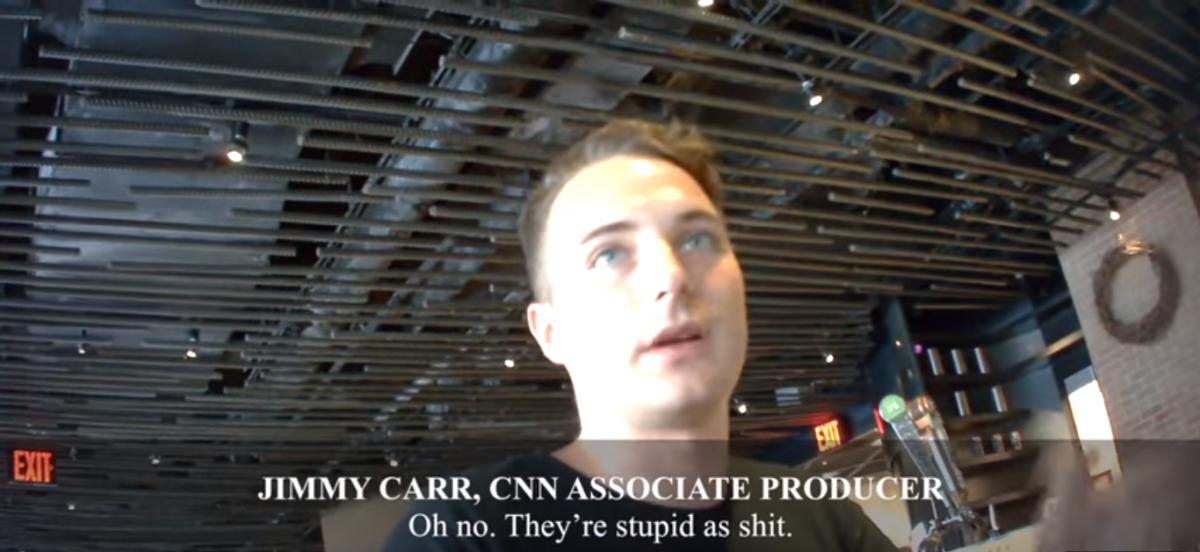 Project Veritas CNN undercover/YouTube Screenshot/veritasvisuals