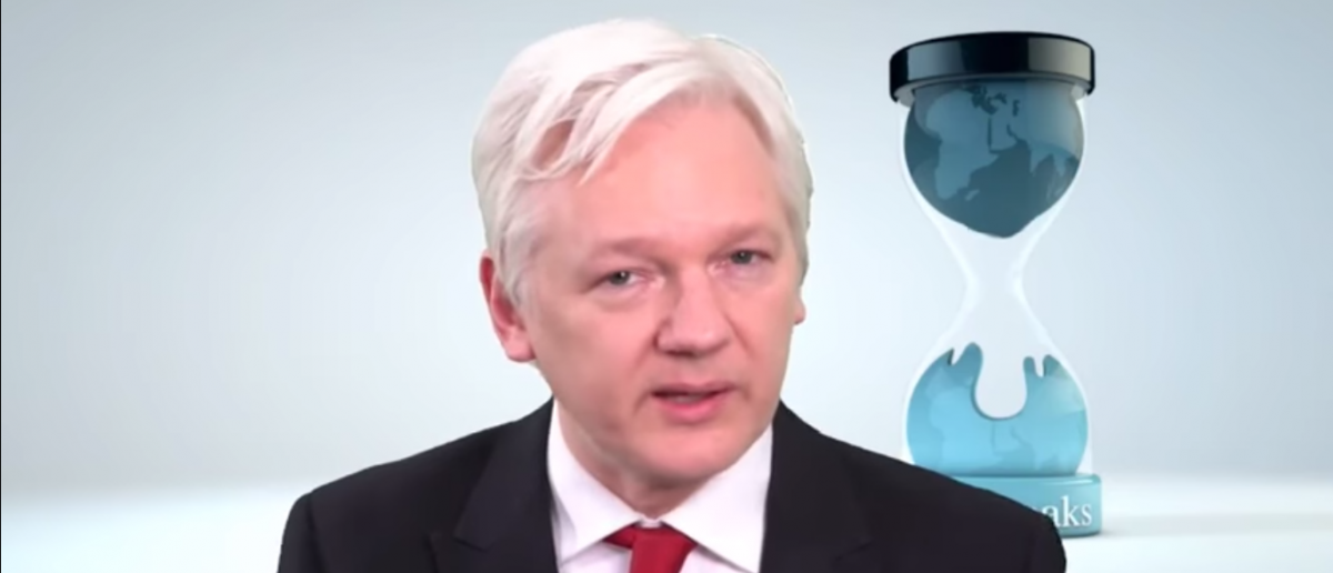 Julian Assange Press Conference and Q&A on Vault 7, Year Zero and the CIA (Youtube screenshot/Listen to this also)