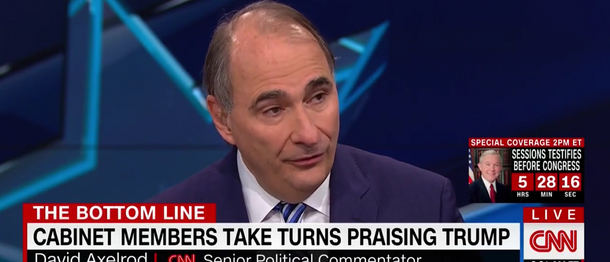 David Axelrod CNN/Screenshot/Tveyes