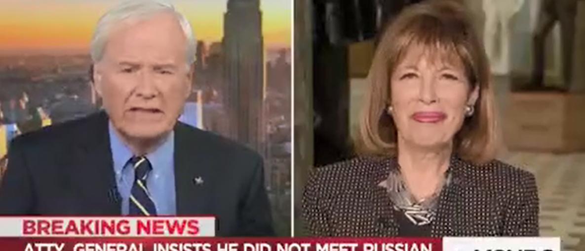 Rep Jackie Speier/Hardball MSNBC/TV eyes Screenshot